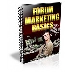 Forum Marketing Basics PLR Newsletter (PLR/MRR)