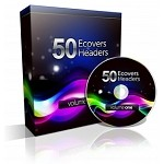 Graphics Ease - 50 eCovers & Headers (MRR)