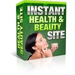 Instant Health And Beauty Site (PLR / MRR)