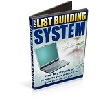 List Building System - Video Series  (PLR / MRR)