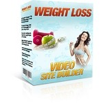 Weight Loss Video Site Builder (PLR / MRR)