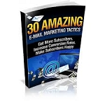 30 Amazing EMail Marketing Tactics (PLR / MRR)