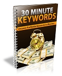 30 Minute Keywords Report (PLR / MRR)