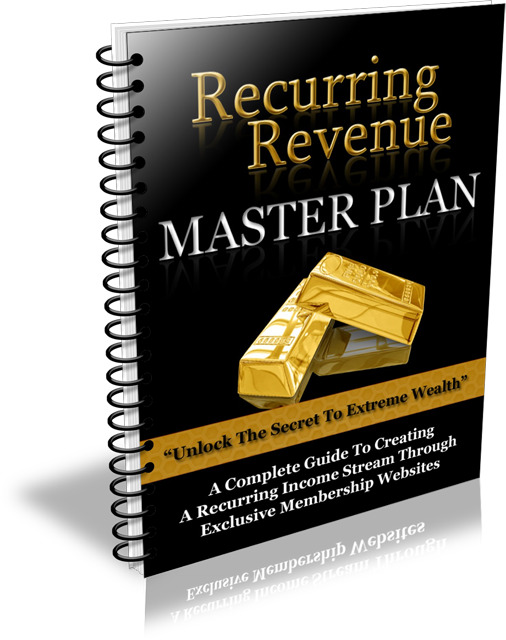 Recurring Revenue Master Plan (PLR / MRR)