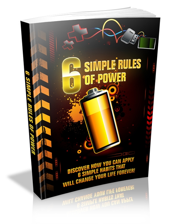 6 Simple Rules Of Power (MRR)