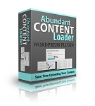 Abundant Content Loader WP Plugin
