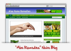 Aloe Remedies Niche Blog (PLR)