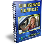 Auto Insurance PLR Articles (PLR / MRR)
