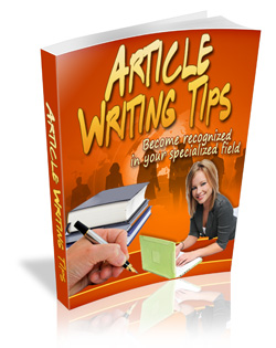 Article Writing Tips (PLR / MRR)