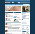 Baby Care Blog Template (PLR / MRR)