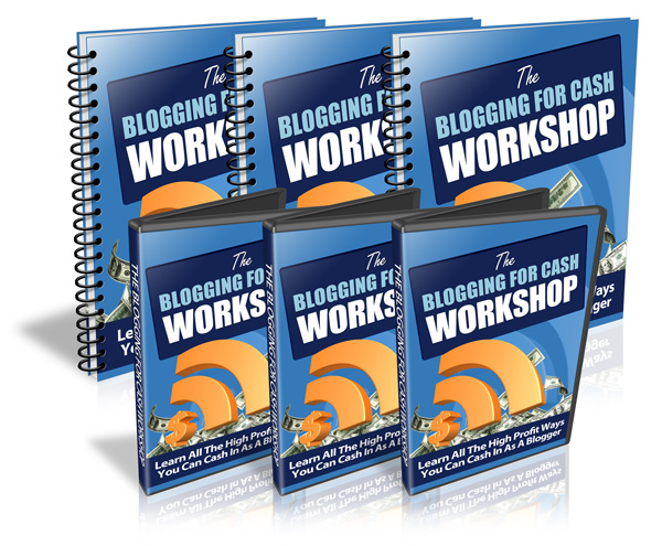 Blogging for Cash Workshop - Video Series (PLR)