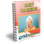 10 Beauty and Fashion PLR Articles (PLR / MRR)