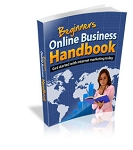 Beginners Online Business Handbook  (MRR)