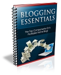 Blogging Essentials Report (PLR / MRR)