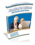 Blogging For Retirees (PLR / MRR)