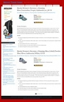 Brooks Shoes Blog Theme (PLR)