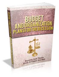 Budget And Organization Plans For The Recession (MRR)