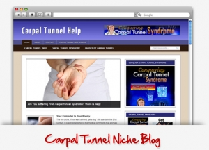Carpal Tunnel Niche Wordpress Theme (PLR)