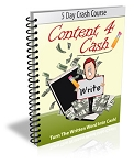 Content 4 Cash PLR Newsletter (PLR)