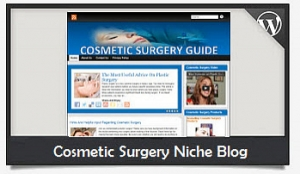Cosmetic Surgery Niche Blog Wordpress Theme (PUO)