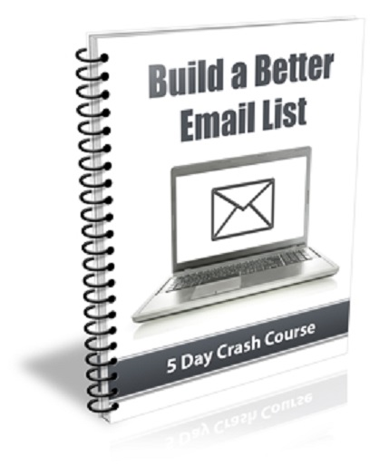 Build A Better Email List (PLR / MRR)
