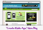 Create Mobile Apps Niche Blog Theme PLR (MRR)