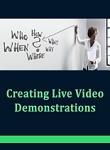 Creating Live Demonstrations (PLR / MRR)