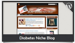 Diabetes Niche Blog Wordpress Theme (PUO)