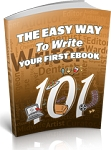The Easy Way To Write Your First EBook (PLR/MRR)