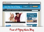 Fear Of Flying Niche Wordpress Theme (PLR)