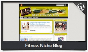 Fitness Niche Blog Wordpress Theme (PUO)
