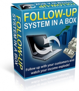 Follow Up System In A Box (PLR)