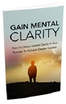 Gain Mental Clarity (PLR/MRR)
