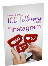 Get 100 Followers a Day on Instagram (PLR / MRR)
