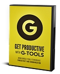 Get Productive With G Tools (PLR / MRR)