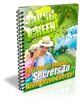 Going Green Squeeze Page (PLR / MRR)