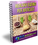10 Healthy Cooking Articles (PLR / MRR)
