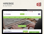 Hirebee Theme - GPL (PLR/MRR)