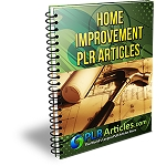 10 Patio PLR Articles (PLR / MRR)