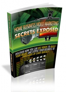 Home Business Video Marketing Secrets Exposed (MRR)