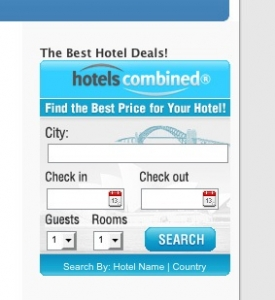 HotelsCombined Search WP Widget (PLR)