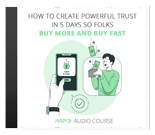 How To Create Powerful Trust In 5 Days (PLR / MRR)