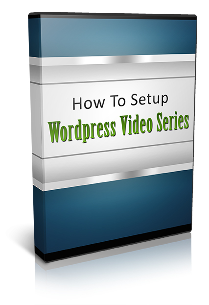 How To Set Up A WP Blog - Video Series (PLR / MRR)