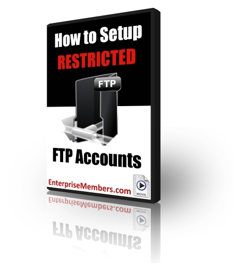 How to Setup Restricted FTP Accounts (PLR)