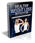 Healthy Weight Loss for Teens - eBook and Audio (PLR / MRR)
