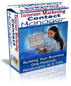 Internet Marketing Contact Manager (PLR)