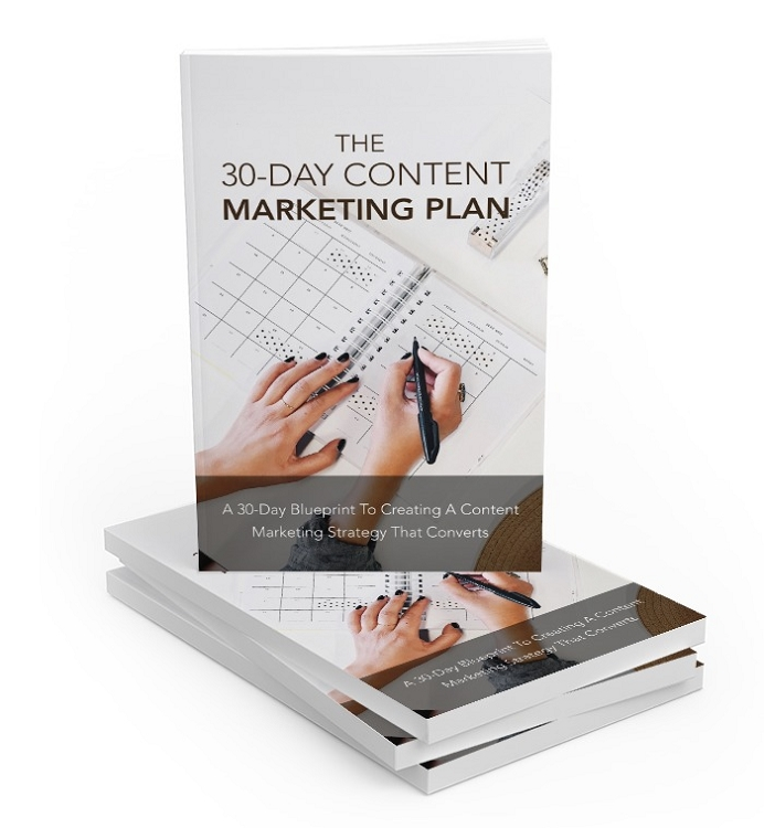 30 Day Content Marketing Plan (PLR / MRR)