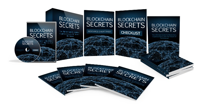 Blockchain Secrets - Turnkey Blockchain (Ebook, Videos, Sales Pages, Reports & More) (MRR)