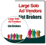 Large Solo Ad Vendors And List Brokers (PLR/MRR)
