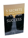 5 Secrets To Staying Persistent (PLR / MRR)